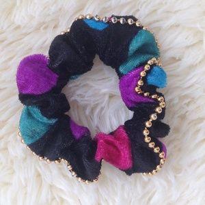 Accessories - *4/20$* *Vintage* 80's - Velvet Scrunchie